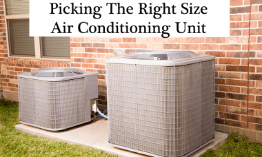 How to select the proper size air conditioner unit at home